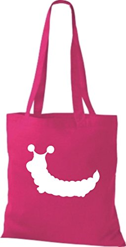 Crocodile un sachet en tissu chenille coton-sac à bandoulière, sac de plusieurs couleurs Rose - Rose