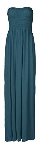 Fast Fashion - Maxi Robe Plus La Taille Sheering Plaine Boobtube - Femme Sarcelle