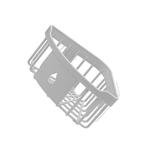 Jinzuke Badezimmer Küche Adhesive Wandhalterung Seifen Shampoo Lotion-Speicher-Fall-Ineinander greifen Design Gestell-Halter -