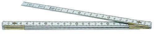 Preisvergleich Produktbild Metrica 20110 Alu-Gliedermassstab 1 m Nat
