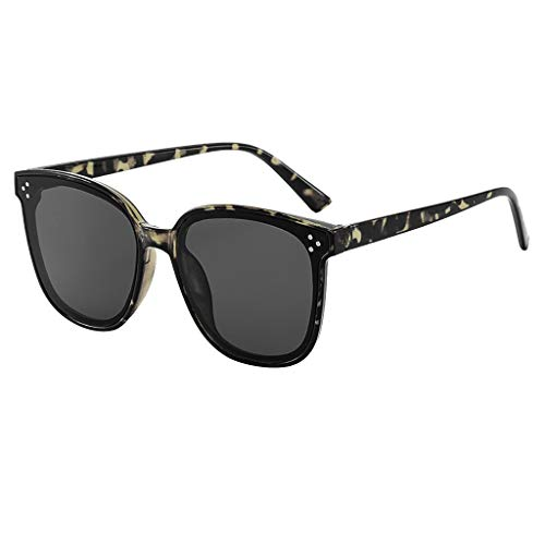 Auifor ☀Damen Lightweight Oversized Fashion Sonnenbrillen - Mirrored Polarized Lens
