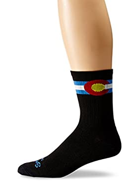 Sockguy Calcetines técnicos SGX, Unisex, color Colorado, tamaño Small/Medium/6-Inch