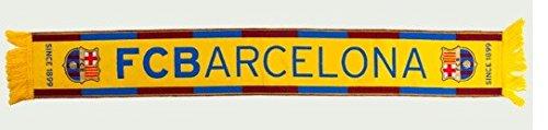 Bufanda del Fútbol Club Barcelona 140x20cm alta definición