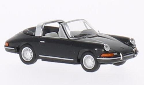 Porsche 911 Targa, schwarz, Modellauto, Fertigmodell, Herpa 1:87