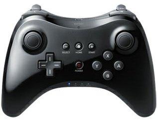 Preisvergleich Produktbild Wireless Controller Wii U Pro Schwarz