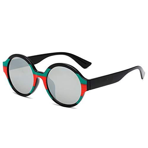 Sonnenbrille Neue Kinder Sonnenbrille Runde Vintage Baby 6-15 Jahre Jungen & Mädchen Gläser Mit Weitem Bein Cute Strert Cool Kind Brille Brillen Schwarz Silber