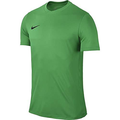 NIKE Herren Kurzarm T-Shirt Trikot Park VI, Grün (Hyper Verde/Black/303), Gr. S