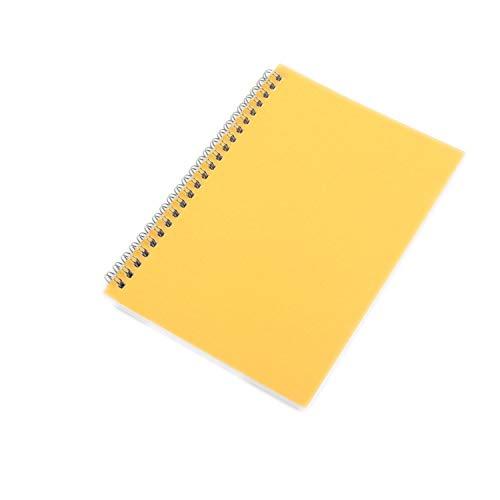 Quaderno a spirale, formato A5, 50 fogli, quaderno a righe, a quadretti, pagine bianche, a quadretti A5 210X148mm Monthly Plan