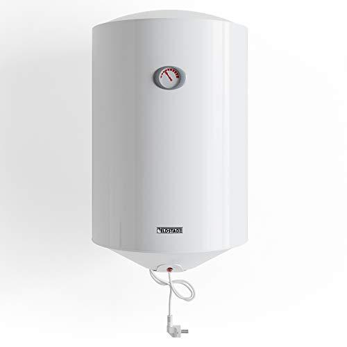 ELDSTAD Boiler PERMA PLUS Warmwasserspeicher weiß 35-100 L Sicherheitsventil (50 l)