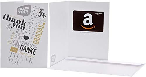 Tarjeta Regalo Amazon.es - Tarjeta de felicitación Gracias global