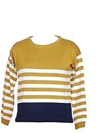 Samrey Stripe (Women/Girls) (Mustard)