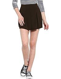 NUN Dark Brown Mini Skirt