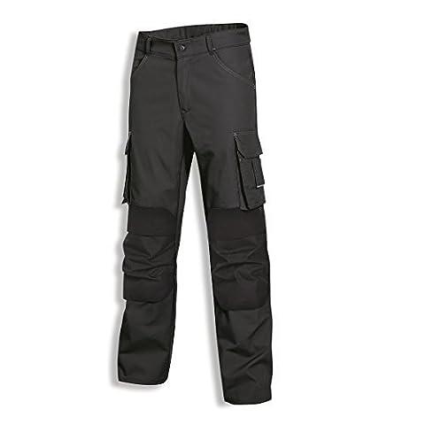 Uvex Arbeitshose perfekt workwear Cargohose; viele Taschen; Farbe: anthrazit; Größe 54