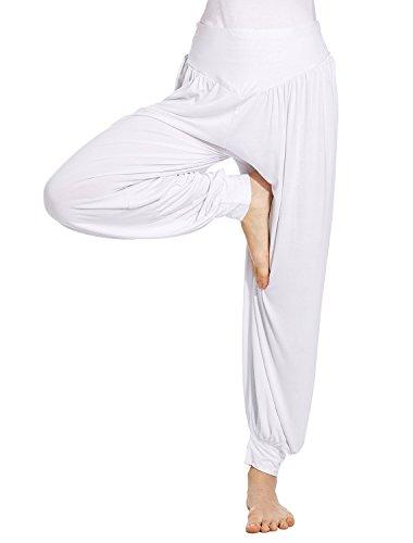 VENI MASEE® ON SALES Frauen weichen, MODAL elastischen Bund fitness yoga Herem Hosen, Farben
