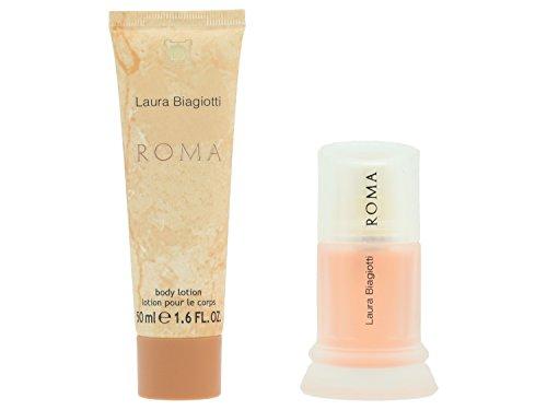 laura-biagiotti-roma-geschenkset-eau-de-toilette-vapo-25-ml-body-lotion-50-ml
