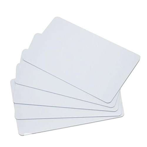 Pvc-karten-drucker (30mil CR80weiß Inkjet Printing PVC-Karte für Epson und Canon Inkjet-Drucker 85.5* 54*0.76mm weiß)