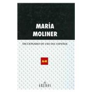 Diccionario de uso del español en 2 volumes
