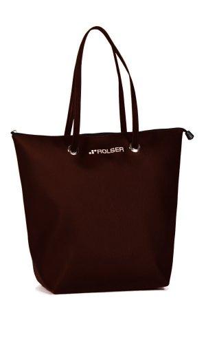 ROLSER Shopping Bag / SUPERBAG, SHB020, 41 x 15 x 36 cm, 22 Liter, 10 kg Tragkraft negro