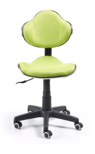 Silla de oficina juvenil, color verde