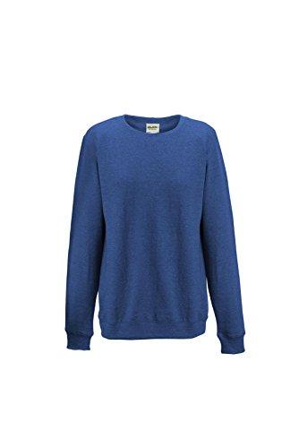 AWDis - Sweat-shirt -  Femme Bleu - Royal Heather