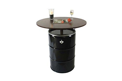 Pie-mesa-mesa-de-fiesta-cerveza-mesa-mesa-de-jardn-mesa-Barril-de-gasolina-con-enfriador-de-bebida