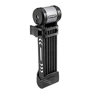 311j0LKGrzL. SS300 Kryptonite Keeper Folding Lock - Antifurto per Bicicletta Pieghevole, Colore: Nero
