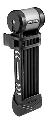 Kryptonite KryptoLok 610 Foldable(5mm/100cm) Fahrradschloss, Black, 100 cm