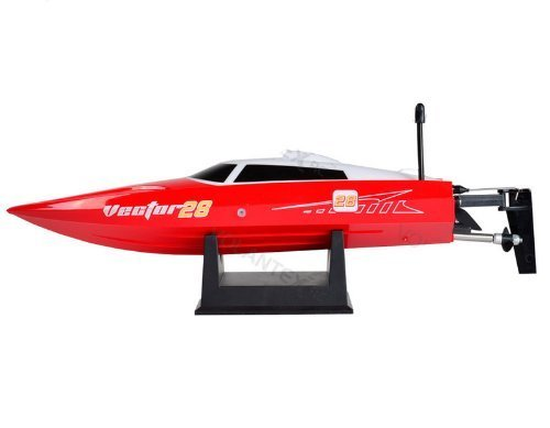 vector28-24ghz-radio-remote-control-micro-high-speed-rc-racing-boat-speed-boat-rtr-red-by-midea-tech