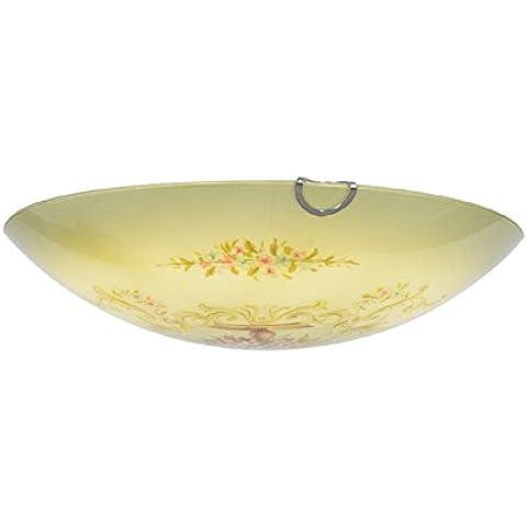 LYXG Seppia idilliaco dipinto a mano lampada da soffitto luci