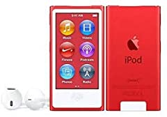 Idea Regalo - Apple iPod Nano 7th Generation 16gb Red Special Edition