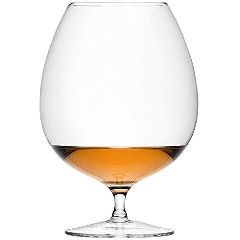 LSA Bar Brandy Glasses 31.7oz / 900ml (Pack of 2) - Balloon Glass, Snifter Glass, Degustation Glass for Brandy, Cognac, Armagnac or Calvados