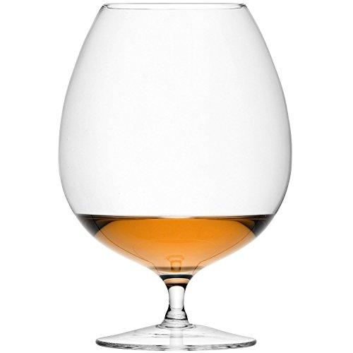 LSA Brandy-Gläser, für Brandy, Cognac, Armagnac, Calvados, 900ml (31,7 Unzen), 2 Stück
