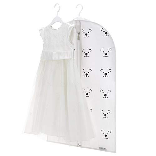 Hangerworld Funda Ropa Infantil 76cm Transpirable Blanco