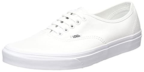 Vans Authentic, Unisex-Adults' Low-Top Trainers, True White,5 UK (38 EU)