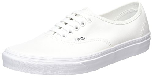 Vans AUTHENTIC, Unisex-Erwachsene Sneakers, Blanc - True White, 43 EU (Frauen Schuhe)
