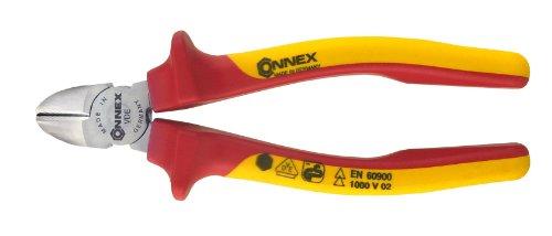 Connex COX141160 Elektriker Seitenschneider VDE, 160 mm, verchromt