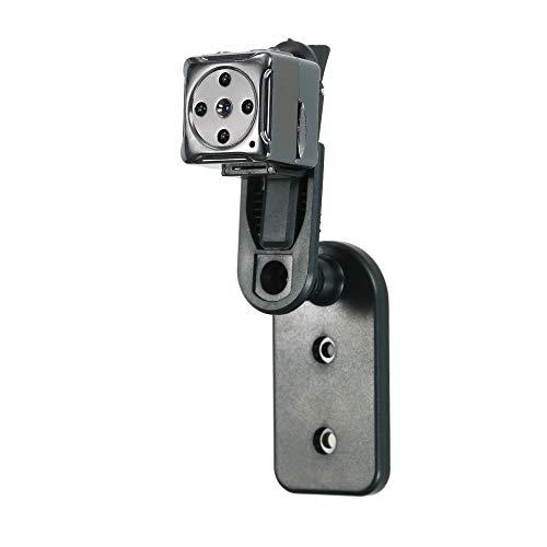Auto Zubehör Kleine Kamera, Oumeiou 1080P HD Tragbare Mini-Kamera 75 ° Weitwinkel-Videorecorder Kindermädchen-Kamera mit Nachtsichtschleife Aufnahme Indoor Outdoor Mini-Videokamera zum Auto Automobil