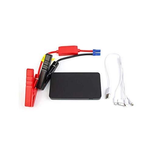12 Booster Kabel (DMQNA 8000Mah 400A Auto-Starthilfe, Schnellladegerät-Powerbank, Mit Intelligentem Schutzgerät, 12-V-Stromversorgung, USB-Anschlüssen, Integrierter SOS-LED-Taschenlampe)