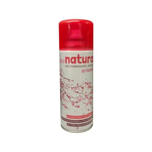 Rampi Deodorante spray salvatessuti mangiaodori Deo Natura Oriente igienizzante interni (per tessuti, tende, scarpe, auto ecc.) 400 m