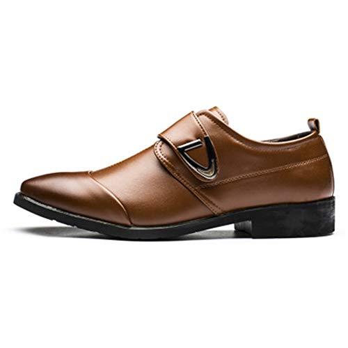 Qianliuk Oxfords Schuhe für Männer Mode PU Leder Männer Kleid Schuhe Spitz Männer Schuhe -