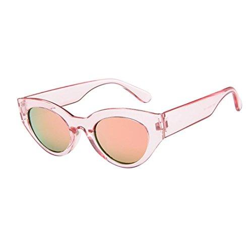 Dragon868 Hochwertige Nerd Sonnenbrille matte Rubber Herren/Damen Retro Vintage Rapper ovale Form Rahmen Sonnenbrillen Eyewears (B) (Matte Ovale)