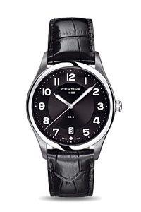 Certina Herren-Armbanduhr XL Analog Quarz Leder C022.410.16.050.00