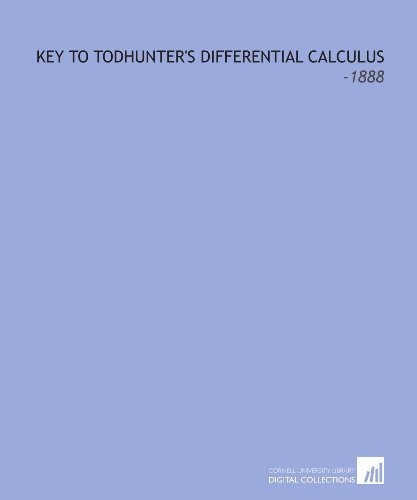key-to-todhunters-differential-calculus-1888