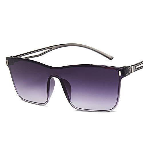 WET0VSD Einteilige Cat Eye Sonnenbrille Frauen Verlaufsglas Retro Spiegel Randlose Sonnenbrille Vintage Reise Brillen Uv400