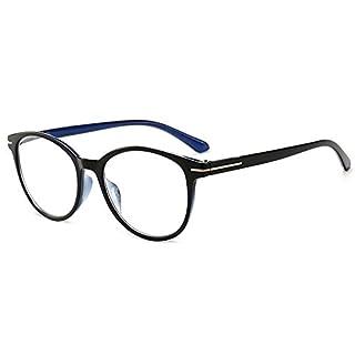 VEVESMUNDO® Lesebrillen Damen Herren Arbeitsplatzbrille Gläser FedernScharnier Brillen Vollrandbrille Mode Große Lesehilfe Augenoptik Qualität 1.0 1.5 2.0 2.5 3.0 3.5 4.0