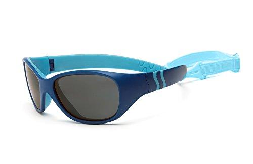 Real Kids Shades Baby Adventure Uv-Sonnenbrille, Königsblau/Hellblau, OneSize Preisvergleich