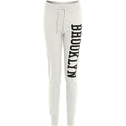 Janisramone Mujeres brooklyn corredores chándal pantalones de jogging de impresión