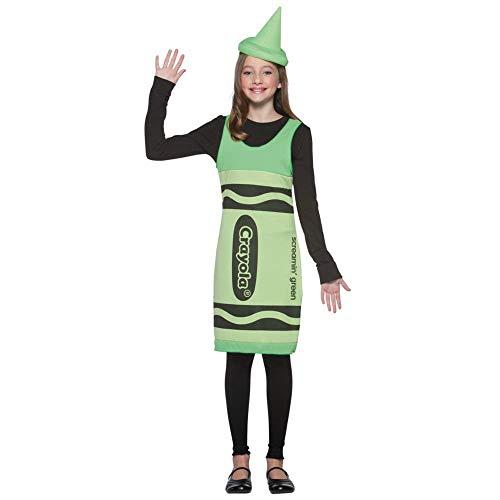 'Rasta Imposta Crayola Hundekostüm Tank Kleid Kind Kostüm groß (Crayola Kostüm Kinder)