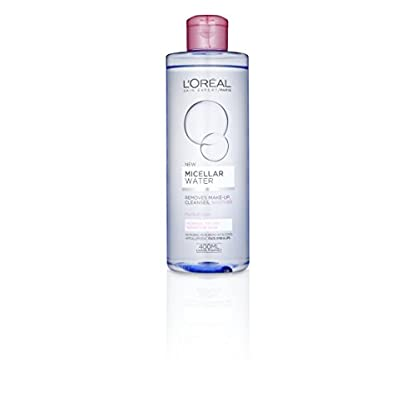 Agua micelar L 'Oreal Paris para piel sensible, normal y seca 400ml