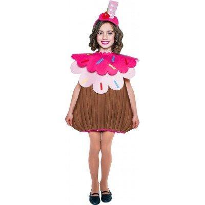 Imagen de disfraz de cupcake para niña